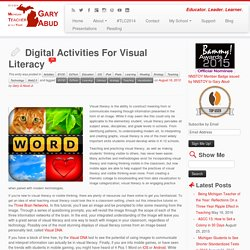 Digital Activities For Visual Literacy
