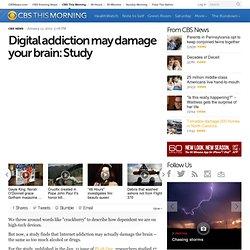 Digital addiction may damage your brain: Study