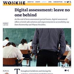 Digital assessment: leave no one behind