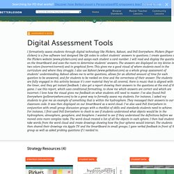 Digital Assessment Tools