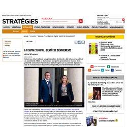 Loi Sapin et digital: bientôt le dénouement?