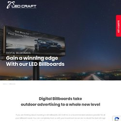Design your LED billboard for maximum results