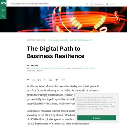 The Digital Path to Business Resilience