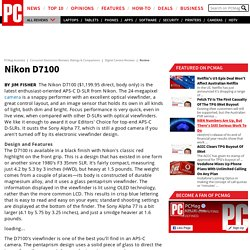 Digital Camera Reviews: Nikon D7100