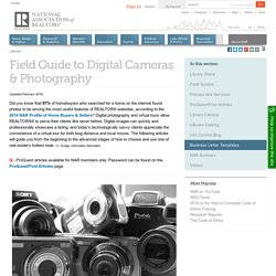 Field Guide to Digital Cameras & Photography