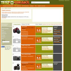 Find the Best Digital Cameras Ratings and Reviews