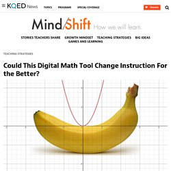 Could This Digital Math Tool Change Instruction For the Better?