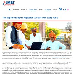 The Digital Change in Rajasthan to Start from Every Home