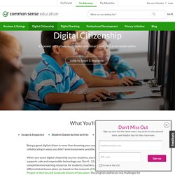 K-12 Digital Citizenship Curriculum