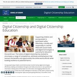 Citoyenneté numérique et éducation à la citoyenneté numérique