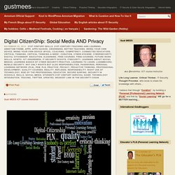 Digital CitizenShip: Social Media AND Privacy – gustmees