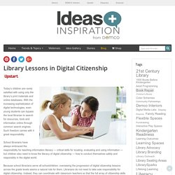 Digital Citizenship Lessons for the Library