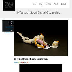 10 Tests of Good Digital Citizenship