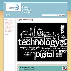 Digital Citizenship - Chris Jones's Portfolio LEC