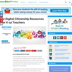 32 Digital Citizenship Resources for Every Teacher
