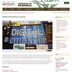 Digital Citizenship in schools