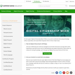 Digital Citizenship Week 2015