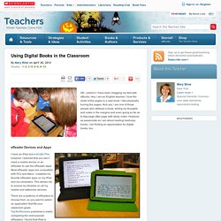 Using Digital Books in the Classroom