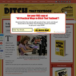 9 digital tools for your classroom toolbelt