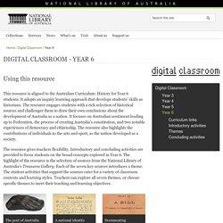 Digital Classroom - Year 6