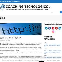 ¿Qué es la brecha digital? – COACHING TECNOLÓGICO