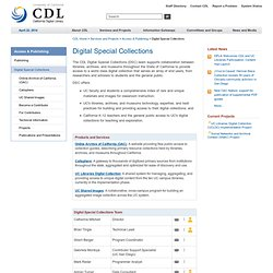 Digital Special Collections
