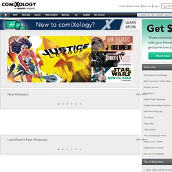 comiXology - Pull, Rate, Preview, Discuss