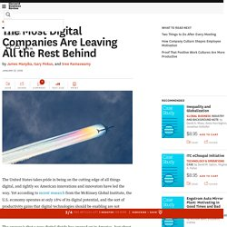 The Most Digital Companies Are Leaving All the Rest Behind