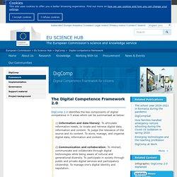 Digital Competence Framework