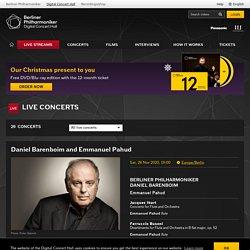 Berliner Philharmoniker : Digital Concert Hall: Live Streams