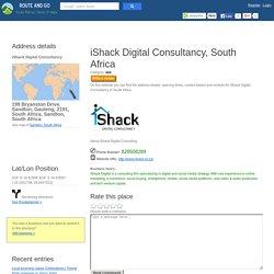 iShack Digital Consultancy 199 Bryanston Drive, Sandton, Gauteng, 2191, South Africa