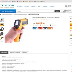 Digital Non-Contact Laser IR Thermometer -32-350℃