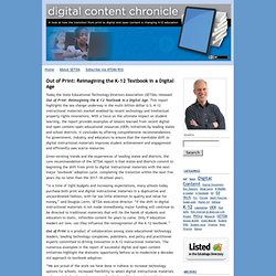 Digital Content Chronicle: Digital Content