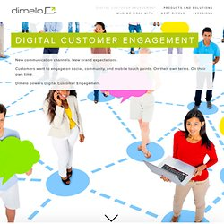 Dimelo - Drive profitable conversations with our SocialCRM Suite