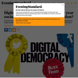Digital democracy: will 2015 be the year social media wins the General Election?