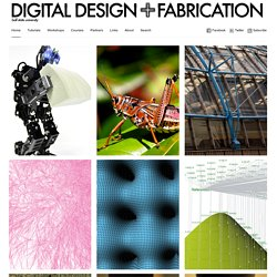 Digital Design + Fabrication