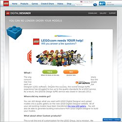 LEGO.com Factory : The Official Web Site