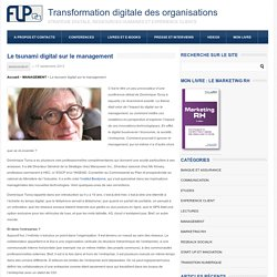 l'impact du digital sur le managementTransformation digitale des organisations