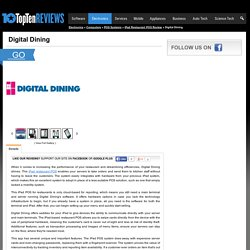 Digital Dining Review 2015