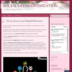 Do you know your Digital Direction?