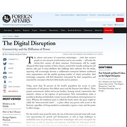 The Digital Disruption