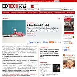 A New Digital Divide?