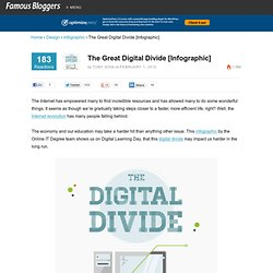 Great Digital Divide [Infographic]