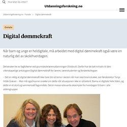 Digital dømmekraft