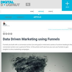 Digital Doughnut - Data Driven Marketing using Funnels