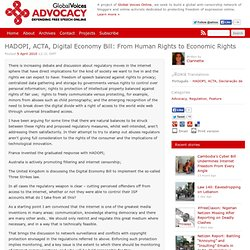 Global Voices Advocacy » HADOPI, ACTA, Digital Economy Bill: Fro