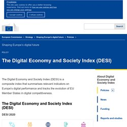 The Digital Economy & Society Index (DESI)