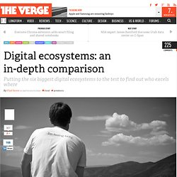 Digital ecosystems: an in-depth comparison