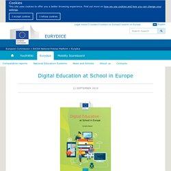 Digital Education at School in Europe