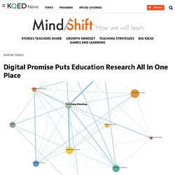 Digital Promise Puts Education Research All In One Place